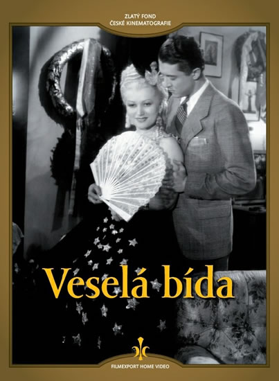 DVD Veselá bída - neuveden - 13x19 cm