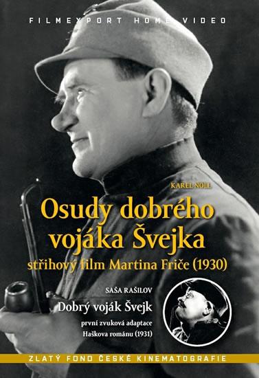 DVD Osudy dobrého vojáka Švejka + Dobrý voják Švejk - neuveden - 13x19 cm