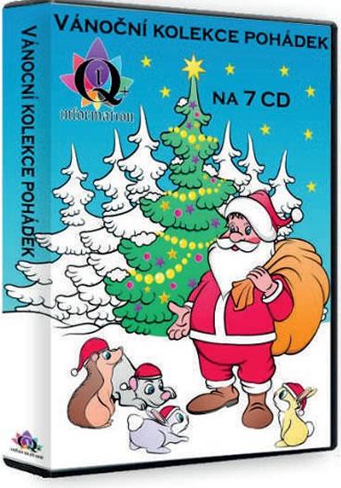 Vánoční kolekce pohádek 7 CD - neuveden