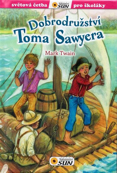 Dobrodružství Toma Sawyera - Twain Mark - 14x20 cm
