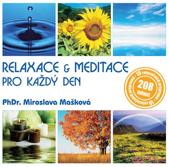 Mašková Miroslava - Relaxace & meditace pro každý den CDmp3 - Mašková Miroslava