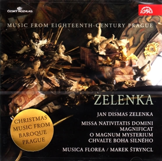 Zelenka: Hudba Prahy 18. století. MISSA NATIVITATIS DOMINI - CD - neuveden