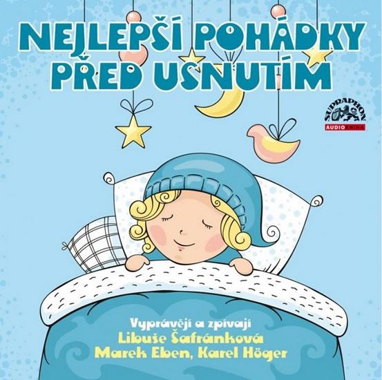 CD Nejlepší pohádky před usnutím - neuveden - 13x14 cm