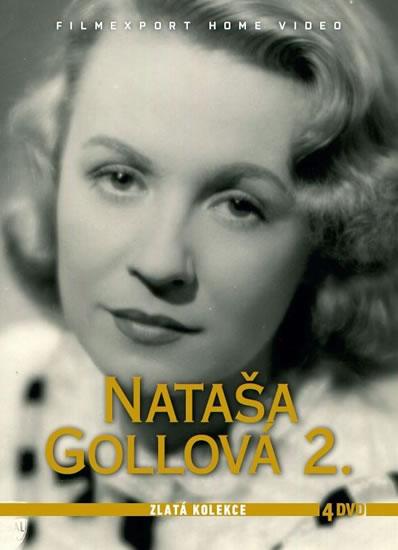 Nataša Gollová 2 - Zlatá kolekce - 4 DVD - neuveden