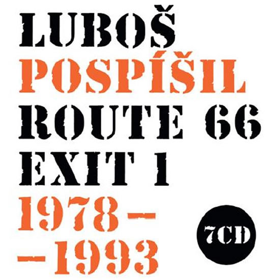 Route 66 - exit 1 / 1978 - 1993 - 7CD - Pospíšil Luboš