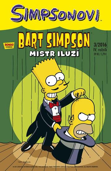 Simpsonovi - Bart Simpson 3/2016 - Mistr iluzí - Groening Matt
