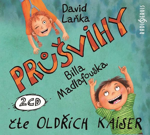 CD Průšvihy Billa Madlafouska - Laňka David