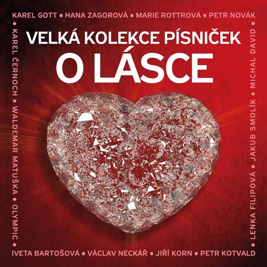 Velká kolekce písniček o lásce - 3CD - Různí interpreti