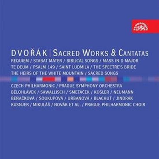 Duchovní dílo, kantáty - 8CD - Dvořák Antonín