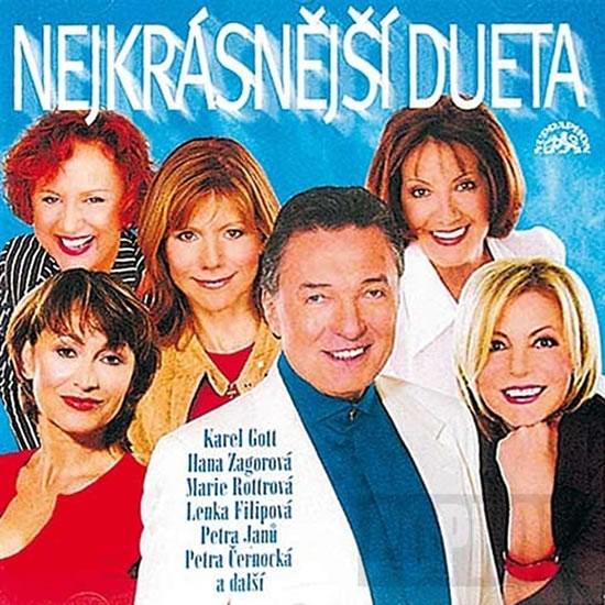 Nejkrásnější dueta - CD - Různí interpreti