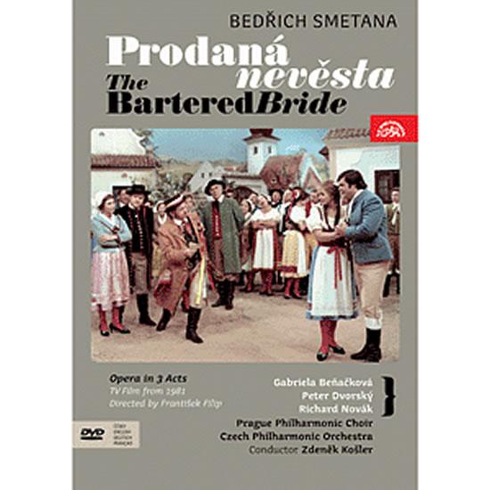 Prodaná nevěsta. Opera o 3 dějstvích - komplet - DVD - Smetana Bedřich