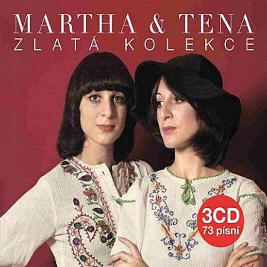 Zlatá kolekce - Elefteriadu M. a T. - 3CD - Elefteriadu Martha a Tena