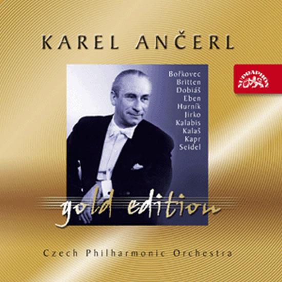Gold Edition 43 - Britten - Hurník - Dobiáš - Kapr - Kalaš - Kalabis - Seidel - Jirko - Eben - Bořk - Různí interpreti