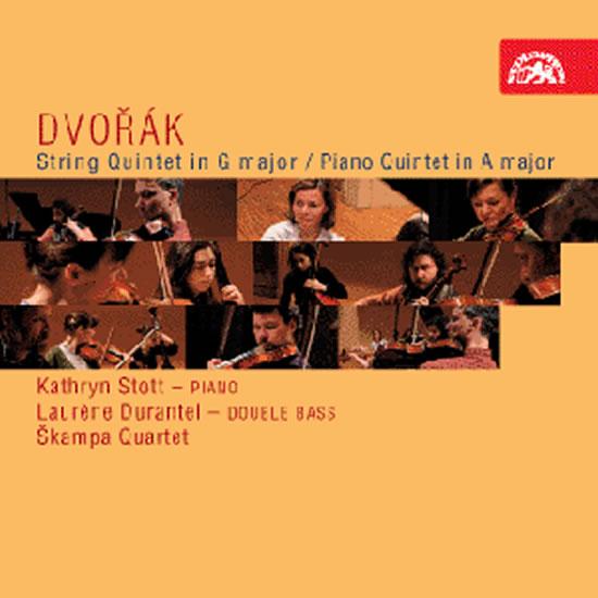 Smyčcový kvintet G dur, op. 77, Klavírní kvintet č. 2 A dur, op. 81, - CD - Dvořák Antonín