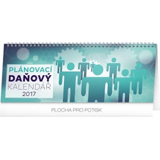 Kalendář stolní 2017 - Plánovací daňový - neuveden