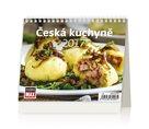 Kalendář stolní 2017 - MiniMax/Česká kuchyně