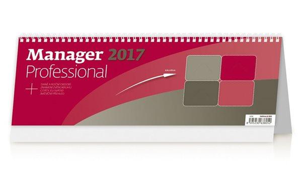 Kalendář stolní 2017 - Manager/Professional - neuveden - 336 x 121 mm
