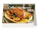 Kalendář stolní 2017 - Česká kuchyně
