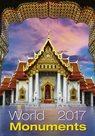 World Monuments kalendář nástěnný 2017