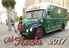 Old Trucks kalendář nástěnný 2017