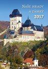 Naše hrady a zámky kalendář nástěnný 2017