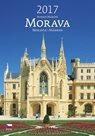 Morava kalendář nástěnný 2017