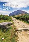 České hory kalendář nástěnný 2017