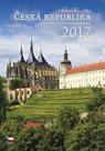Česká republika kalendář nástěnný 2017
