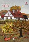 Art Naive/Exclusive kalendář nástěnný 2017