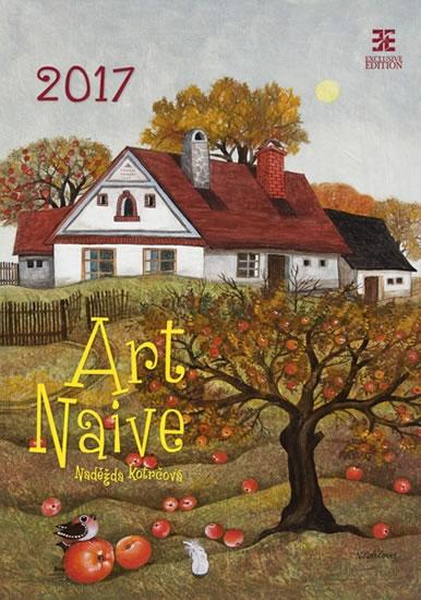 Art Naive/Exclusive kalendář nástěnný 2017 - neuveden - 34x49 cm