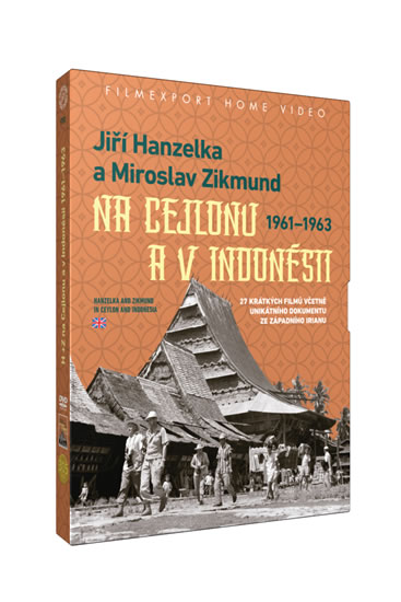 Hanzelka a Zikmund na Cejlonu a v Indonésii - 2 DVD v šubru - neuveden