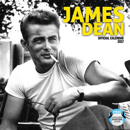 Kalendář 2017 - JAMES DEAN - neuveden