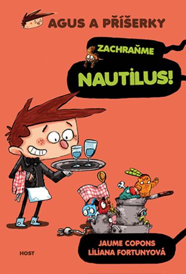 Agus a příšerky 2 - Zachraňme Nautilus! - Copons Jaume