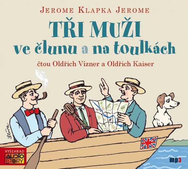 CD Tři muži ve člunu a Tři muži na toulkách - Jerome Jerome Klapka, Sleva 11%
