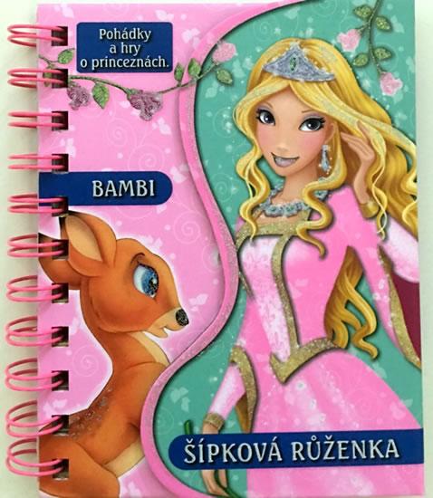 Bambi / Šípková Růženka - Pohádky a hry o princeznách - neuveden
