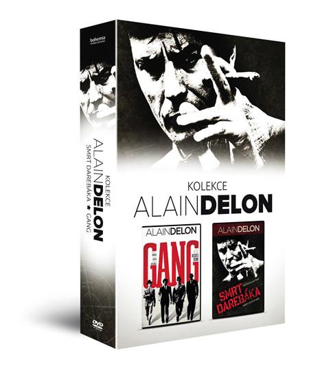 Alain Delon kolekce (2DVD): Gang, Smrt darebáka - neuveden