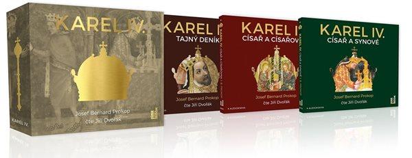 KAREL IV. kompletní trilogie na 4CD mp3 - Prokop Josef Bernard
