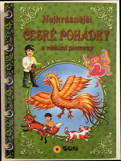 Nejkrásnější české pohádky s většími písmeny - neuveden