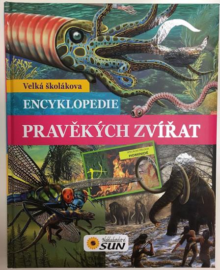 Velká školákova encyklopedie pravěkých zvířat - neuveden