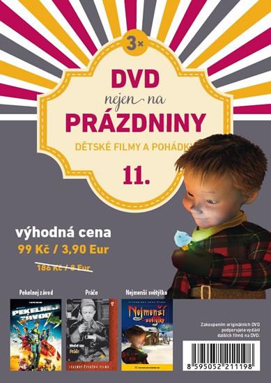 DVD nejen na Prázdniny 11. - Dětské filmy a pohádky - 3 DVD - neuveden