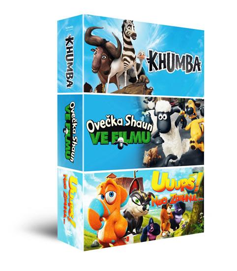 DVD Animáky kolekce II.: Ovečka Shaun ve filmu, Khumba, Uuups! Noe zdrhnul… - neuveden