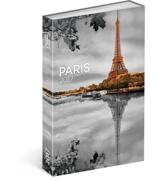 Diář 2017 - Paříž - týdenní (GB, DE, FR, IT, ES, NL) - neuveden