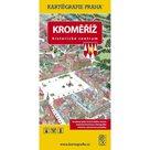 Kroměříž - Historické centrum/Kreslený plán města
