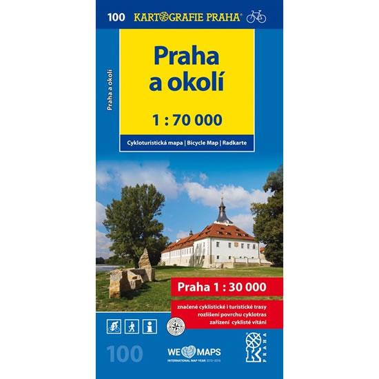1: 70T(100)-Praha a okolí (cyklomapa) - neuveden