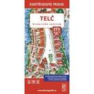 Telč - Historické centrum/Kreslený plán města