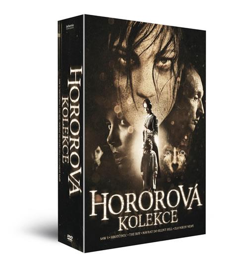 5x DVD Hororová kolekceII /Návrat do Silent Hill + SAW V. + Sirotčinec + The Boy + Zlo nikdy nespí - neuveden