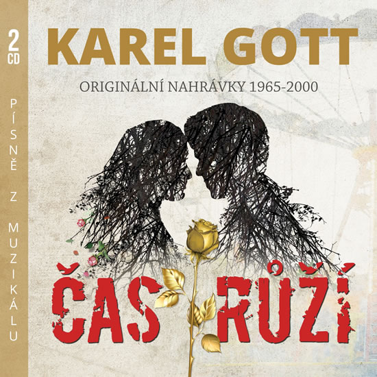 Čas růží - Originální nahrávky 1965-1992 - 2 CD - Gott Karel