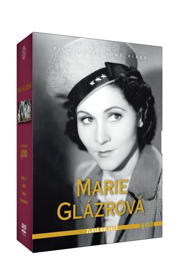 Marie Glázrová - Zlatá kolekce - 4DVD - neuveden