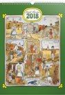 Kalendář nástěnný 2018 - J. Lada - Měsíce