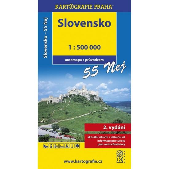 Slovensko - 55 nej, 1:500T (automapa) - neuveden